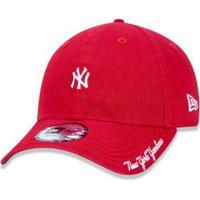 Boné 940 New York Yankees Mlb Aba Curva New Era - Masculino-Vermelho 1a12b047361