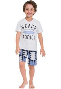 Pijama Infantil Branco Milon