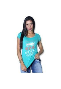 Camiseta Heide Ribeiro Work Hard Give Your Best Verde