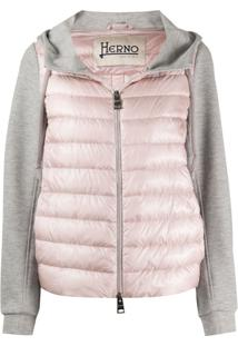 Herno Padded Hooded Jacket - Rosa