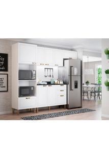 Cozinha Compacta Nevada Iii 7 Pt 4 Gv Branca