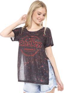 Camiseta Redley Liberty Preto