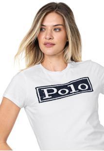 Camiseta Polo Ralph Lauren Reta Branca