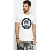 10ad790ab Camiseta Colcci Wilde Side Masculina - Masculino-Branco