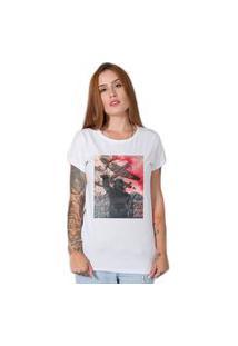 Camiseta Red Smoke Branco