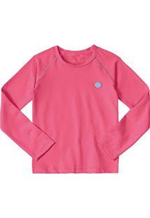 Camiseta Marisol Infantil Feminina - Feminino-Rosa