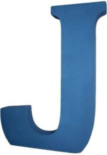 Enfeite Libbys Letra J Azul