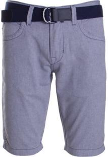 Bermuda Com Cinto Dpto By Departamento Jeans Cinza