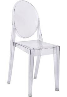 Cadeira Invisible- Incolor- 90,5X40X35,5Cm- Or Dor Design