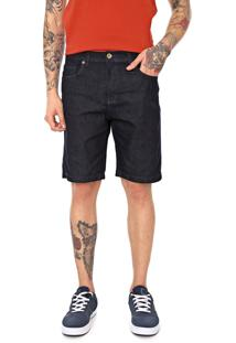 Bermuda Jeans Quiksilver Reta Artor Azul-Marinho