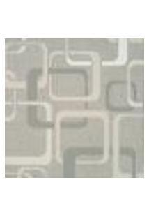 Papel De Parede Italiano Imagine 2 34474 Vinílico Com Estampa Contendo Geométrico, Aspecto Têxtil, Retrô