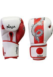 Luva De Boxe / Muay Thai Naja Países Japão 12 Oz - Unissex
