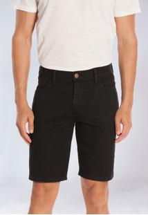 Bermuda Jeans Preta Yck'S - Kanui