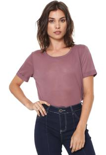 Camiseta Jdy Lisa Marrom