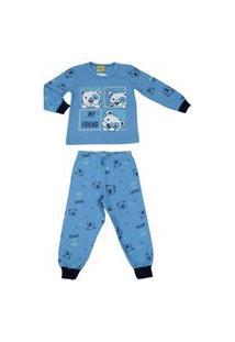 Pijama Longo Brilha No Escuro Rolú