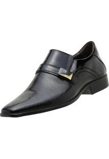Sapato Social Gofer Envernizado Preto