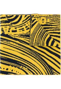 Rokh Cachecol Com Padronagem - Amarelo