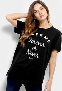 Camiseta Colcci Love Me Feminina - Feminino