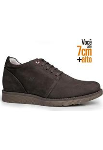 Sapato Masculino Rafarillo Couro Aumenta Altura Urbano - Masculino