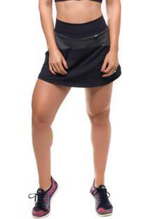 Short Saia Skirt Comb Sandy Fitness - Feminino
