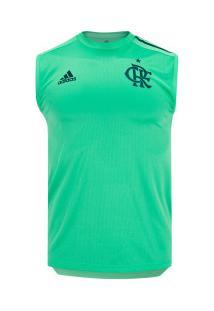 Camiseta Regata De Treino Do Flamengo 2020 Adidas - Masculina - Verde