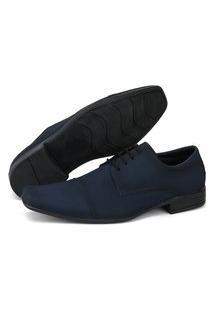 Sapato Masculino San Lorenzo Social Marinho