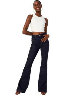 Calça Jeans Flare Sustentável