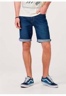 Bermuda Jeans Tradicional - H4A31Aej3 Hering Masculina - Masculino-Marinho
