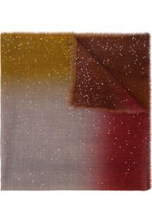 Faliero Sarti Cachecol Color Block - Vermelho