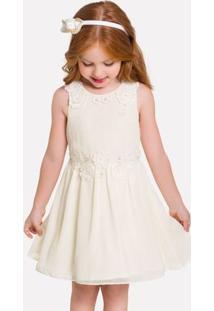 Vestido Infantil Milon Chiffon 11937.0452.10