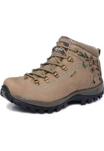Bota Adventure Cano Alto Macboot Alecrim Bege