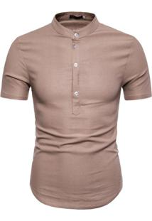 Camisa Canmore - Caramelo