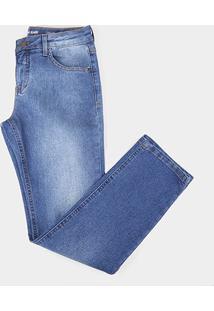 Calça Jeans Infantil Calvin Klein Masculina - Masculino-Azul