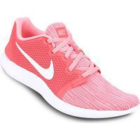 bee8ba55748 Tênis Nike Flex Contact 2 Feminino - Feminino-Rosa+Branco