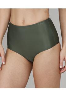 Biquíni Calcinha Hot Pant Com Proteção Uv50+ Verde