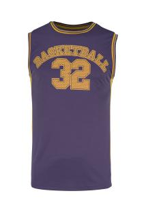 Camiseta Regata Adams Basketball Bas002 - Masculina - Roxo