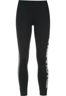 Track & Field Calça Legging 'Logo' Redtech® - Preto