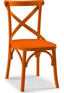 Cadeira De Jantar X Laranja