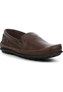 39be1484fd Sapato Mocassim Masculino Pegada Marrom Claro