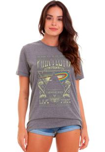 Camiseta Basica Joss Pink Floyd 1972 Chumbo