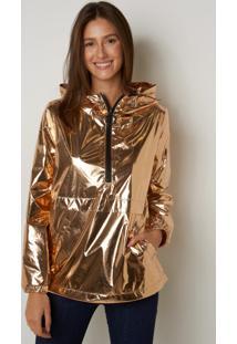 Jaqueta Le Lis Blanc Sue Gold Shine Dourado Feminina (Gold, 34)