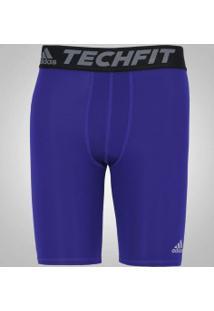 Bermuda Térmica Adidas Techfit Base S16 - Masculina - Azul
