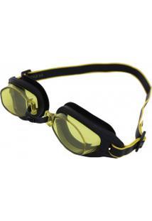 Óculos De Natação Speedo Freestyle 3.0 - Adulto - Preto/Amarelo