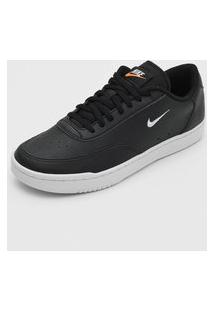 Tênis Nike Sportswear Court Vintage Preto