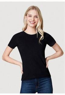 Camiseta Básica Em Algodão - 4Eyvwg7En4 Hering Feminina - Feminino