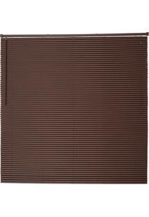Persiana Wood- Marrom Escuro- 220X100X3Cm- Evoluevolux