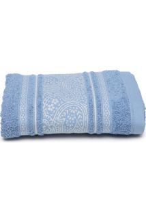Toalha De Rosto Santista Platinum Pérsia 50X80Cm Azul - Tricae