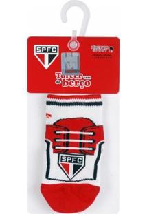 Meia Reve D Or Sport Chuteira São Paulo Branca 80a6062d65685