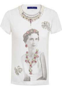 Camiseta Feminina Olga - Branco