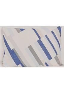 Fronha Altenburg Azul/Bege